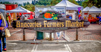 An October Farmers' Market in Anacortes, WA
