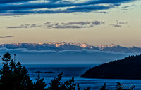 Sunrise over the Olympic Mountains-3